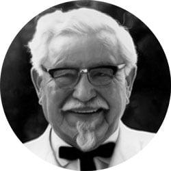 Famous Failures Colonel Sanders