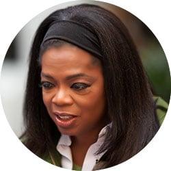 Oprah Winfrey Famous Failure