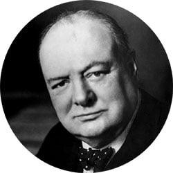 Winston Churchill Famous Failure